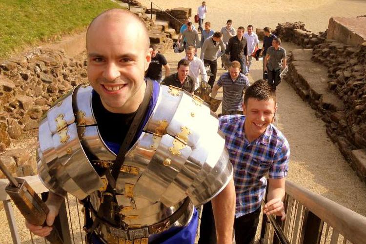 Public Roman Soldier Patrols