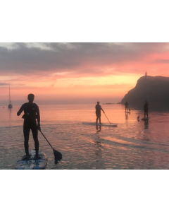 Sunset Stand Up Paddleboarding Session