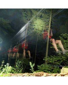 Night Zip Wire - a Step into Darkness
