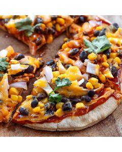 Pepper Barbecue Chicken Pizza