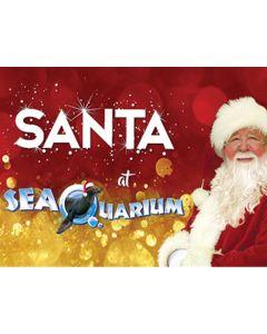 Santa at SeaQuarium