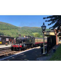 Steam Private Compartments - Llangollen - Carrog Return