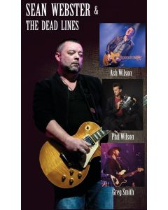 Thursday 19th August 2021 8:00pm  Sean Webster and the Dead Lines