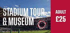 Adult - Twickenham Stadium Tour and World Rugby Museum