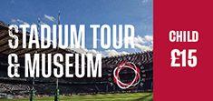 Child - Twickenham Stadium Tour and World Rugby Museum