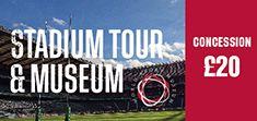 Concession - Twickenham Stadium Tour and World Rugby Museum