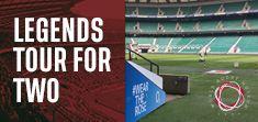 Legends Tour of Twickenham Stadium for Two