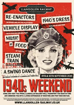 1940's Weekend - 19th & 20th September 2020