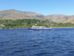 Campbells on Coniston Cruise
