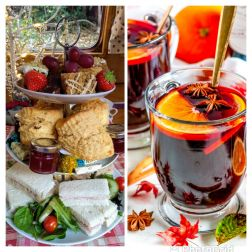 Aqueduct Cruise Luxury Afternoon Tea and Mulled Wine & Christmas Songs