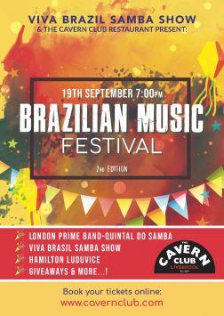 Brazilian Music Festival 2nd Edition 26/09/2021