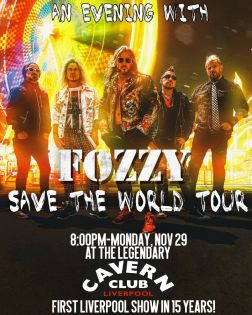 An Evening With Fozzy 29/11/2021