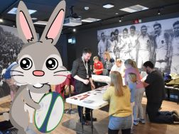 Chocolate Eggchasers: Easter Arts and Crafts + World Rugby Museum Admission