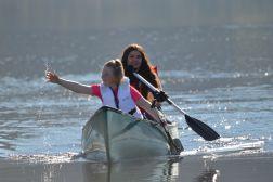1 Hour Double Kayak Hire - Hope Lake