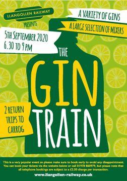 Gin Train  5th September  2020