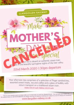 Mothers Day 22nd March 2020