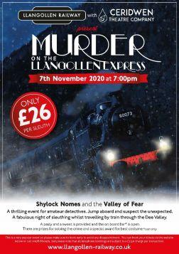 Murder Mystery - 7th November  2020