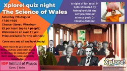 The Science of Wales // Quiz Night at Xplore!