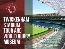 Twickenham Stadium Tour and World Rugby Museum