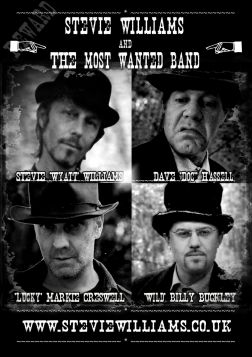 Stevie Williams And the Most Wanted Band