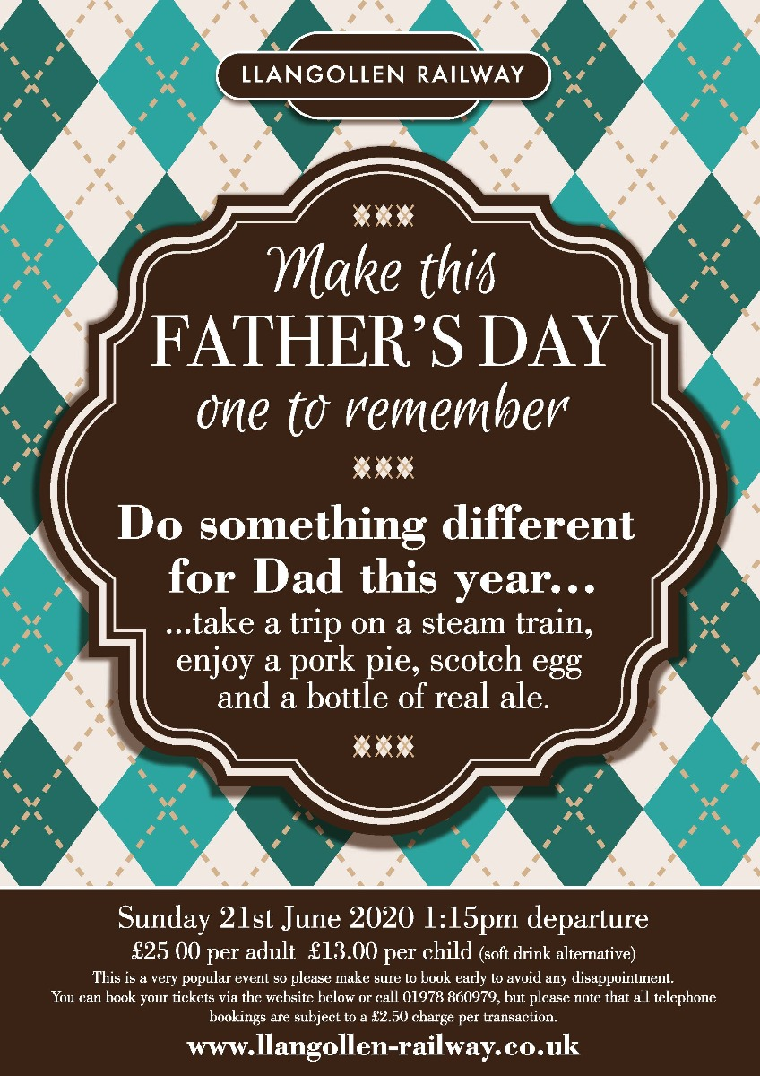 Fathers Day 21st  June 2020