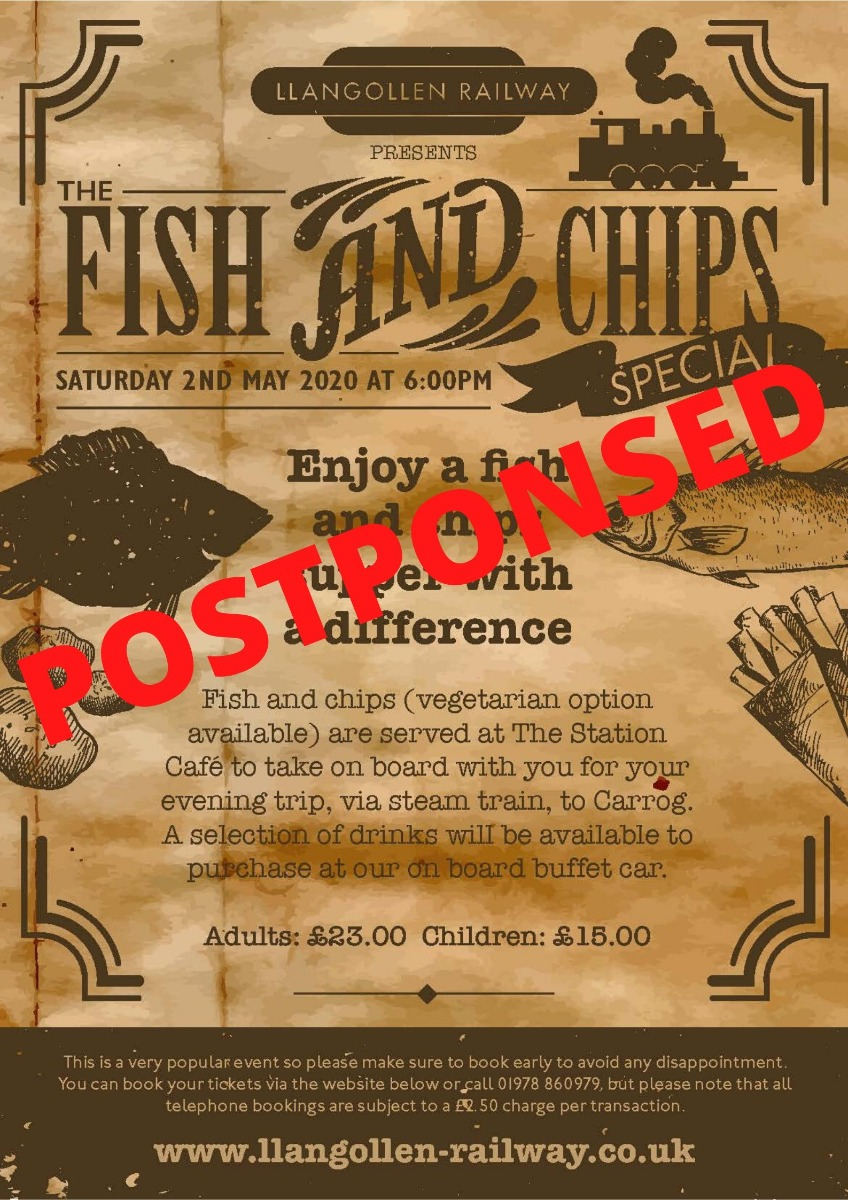 Fish & Chip Special 2nd  May 2020