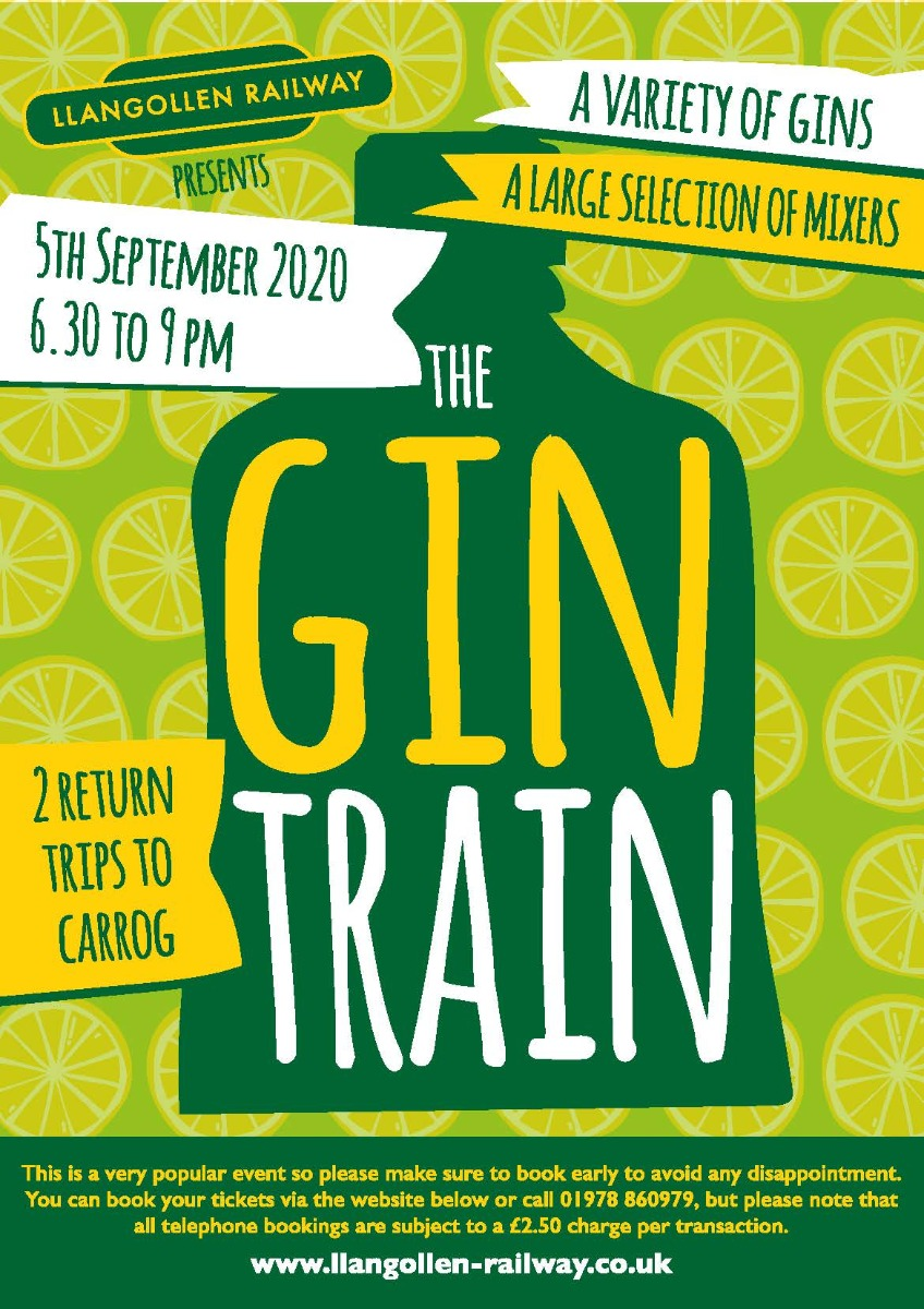 Gin Train  5th September  2020