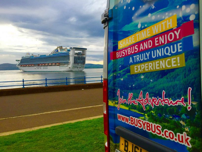 GREENOCK (GLASGOW) SHORE EXCURSION: Scotland Adventure - Sightseeing Day Trip Tour