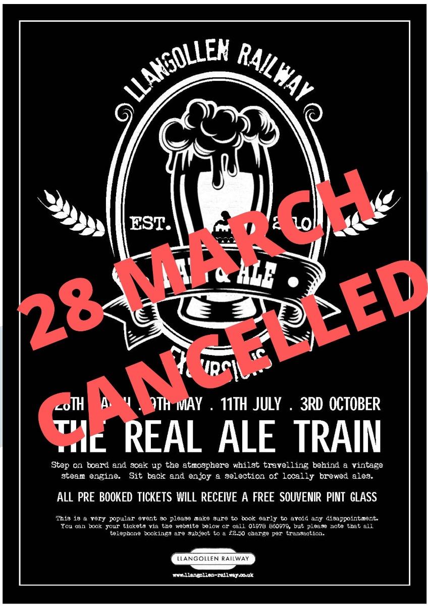 Real Ale Train 28th March 2020