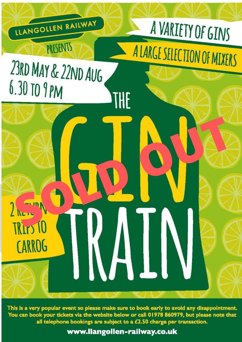 Gin Train  23rd May 2020